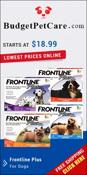 Sale Now On for Frontline Plus which provides month long protection to pets and saves them from flea and tick-borne diseases. Buy Now to Get Extra 5% Discount and Free Shipping across USA. Use coupon: BPC5OFF to avail instant discount on All Orders.